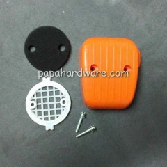 brush cutter air filter assembly