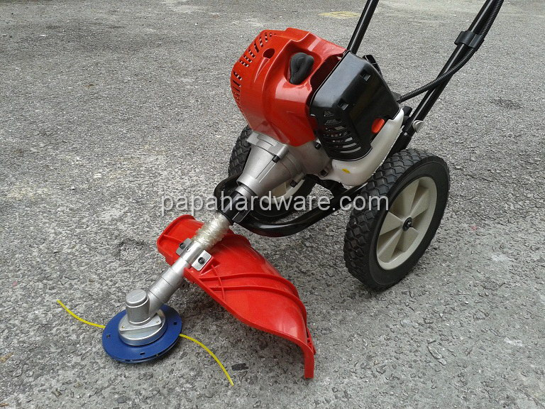 push lawn mower with mitsubishi engine