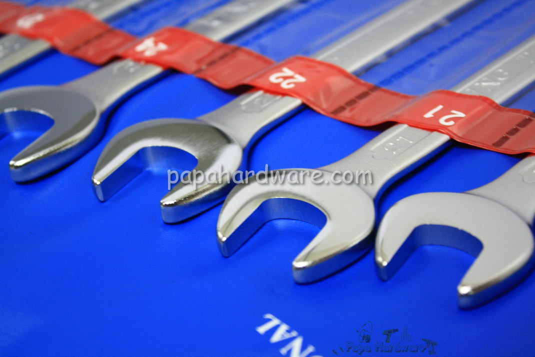 King Toyo Combination Wrench Set 14pcs Size 8 to 32