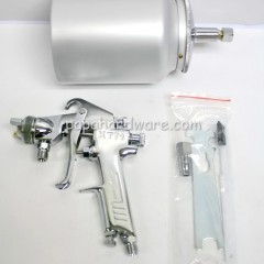 king toyo spray gun and aluminum paint cup