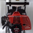 mitsubishi tb33 grass cutter back view