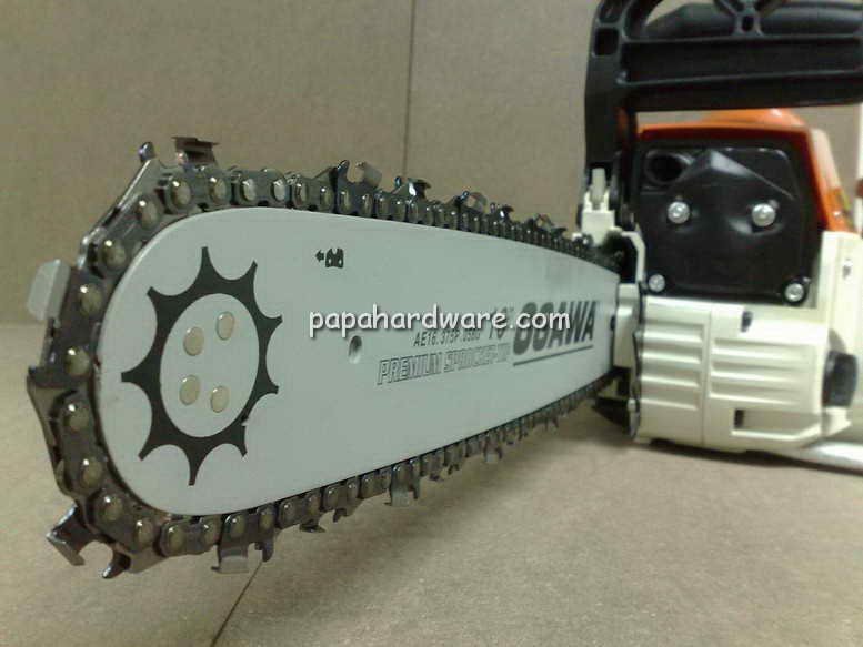 ogawa chainsaw front view