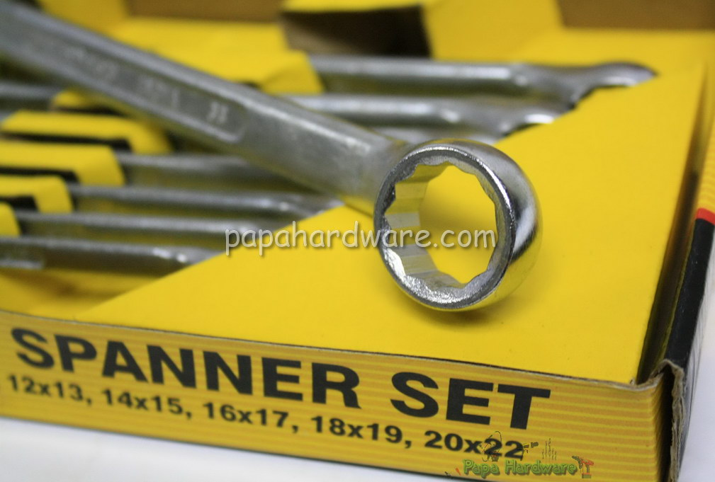 suntools ring spanner set