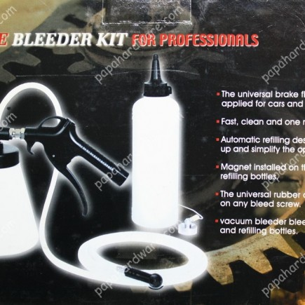Vacuum Pneumatic Brake Bleeder Kit 750ml